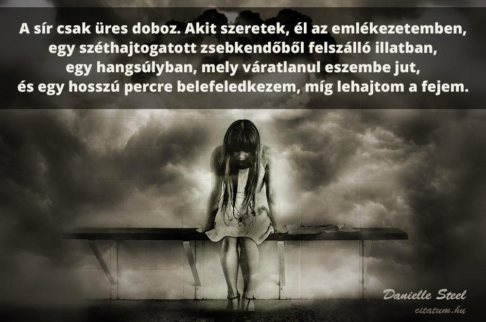 sír idézetek A sír csak üres doboz.