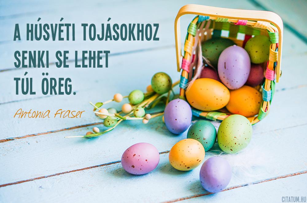 A húsvéti tojásokhoz senki se lehet túl öreg.