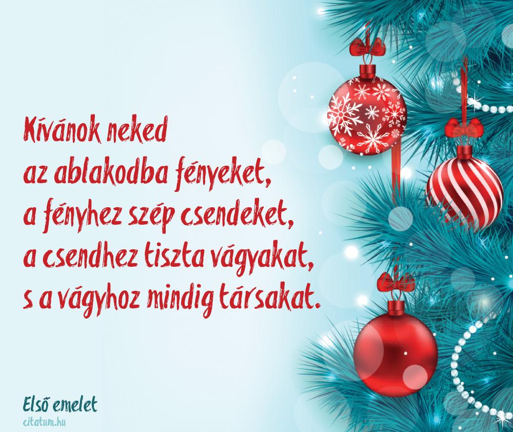 boldog karácsonyt első emelet Kívánok neked az ablakodba fényeket boldog karácsonyt első emelet